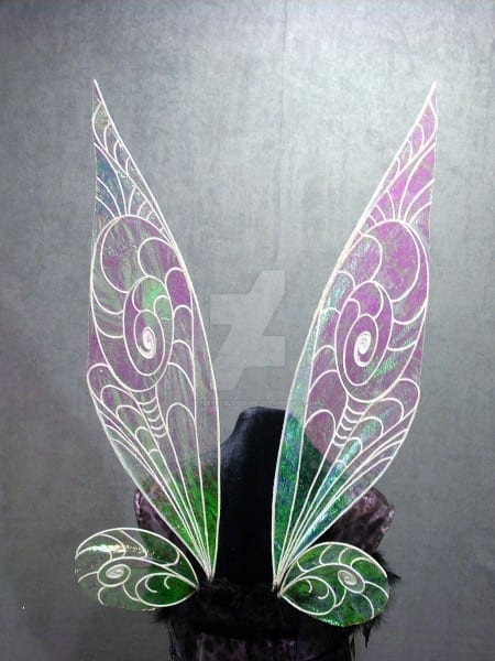 Tinkerbell Wings Iridescent Fairy Wings By Fairyberryblossoms On