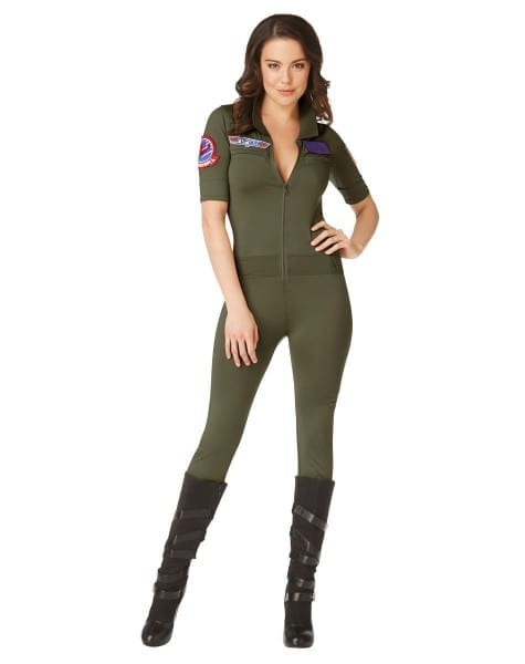 Top Gun Jumpsuit Adult Womens Costume – Spirit Halloween Types Of