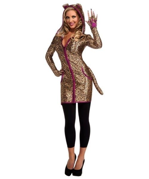 Adult Urban Leopard Animal Halloween Costume