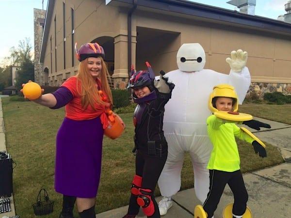 Big Hero 6 Family Halloween Costumes