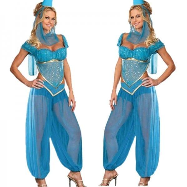 Aliexpress Com   Buy Vocole Sexy Genie Princess Jasmine Aladdin