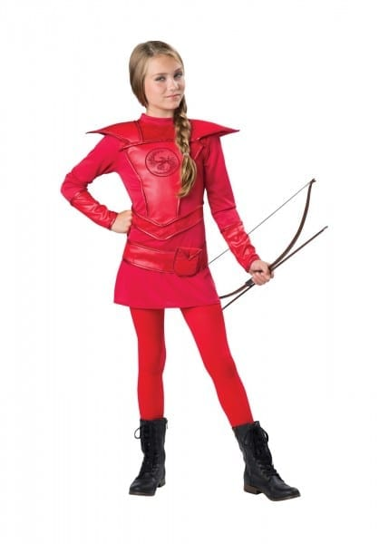 Huntress Red Warrior Girls Costume