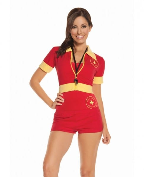 Sexy Lifeguard Deluxe Costume