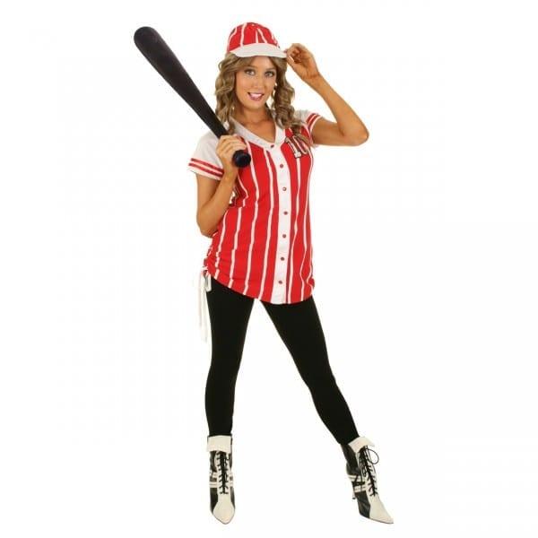 Womens Baseball Jersey Costume