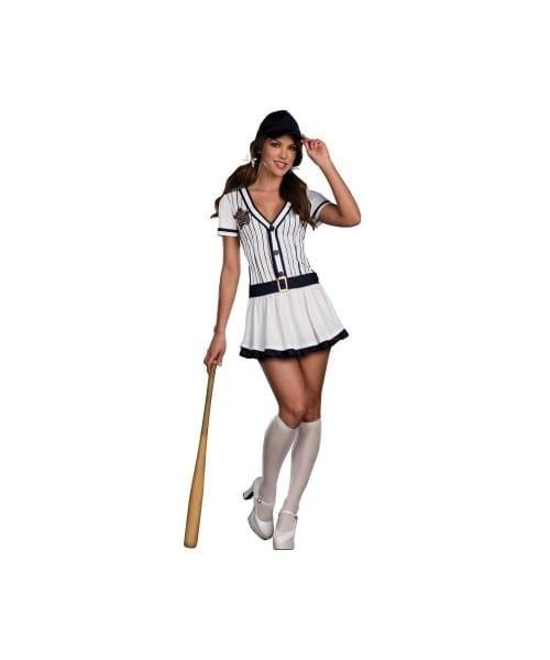 All Star Hottie Baseball Player Womens Costume