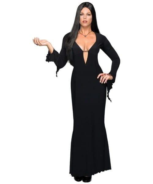 Addams Family Morticia Plus Size Costume