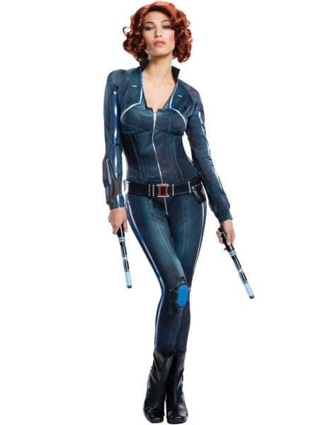 Women's Plus Size Sexy Black Widow Costume  The Coolest