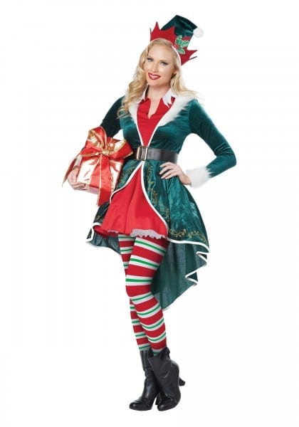 Women's Sexy Elf Costume