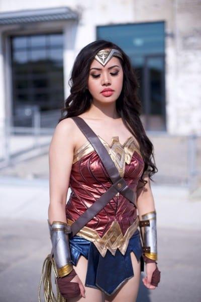 My Wonder Woman Cosplay