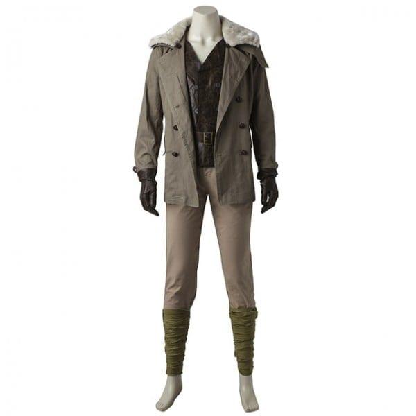 Wonder Woman Steve Trevor Cosplay Costume Outfit Uniform Suit