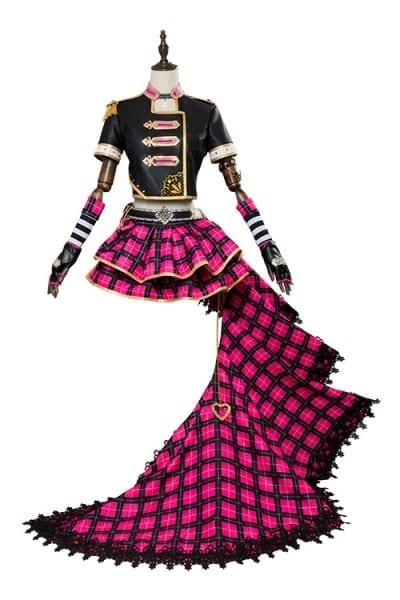 Love Live! Sunshine!! Cosplay Ruby Kurosawa Punk Rock Outfit