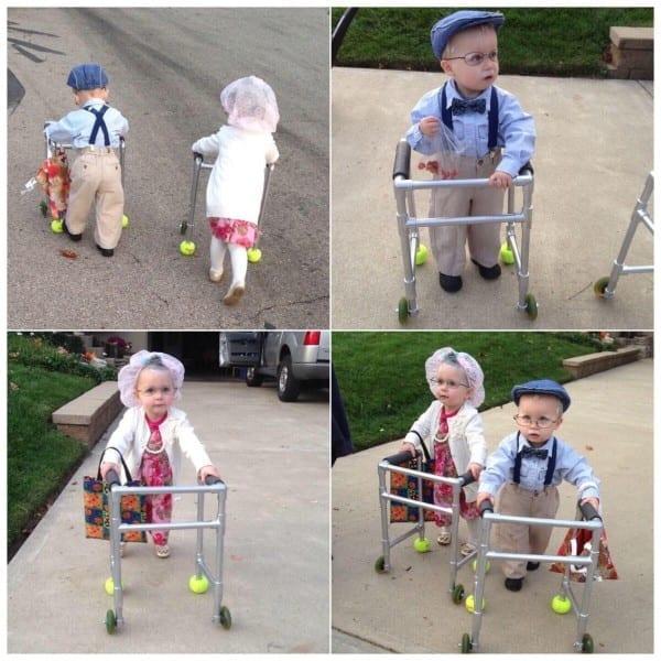 Little Twins' Halloween Costumes
