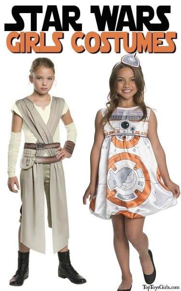 Star Wars Girls Bb8 Costume