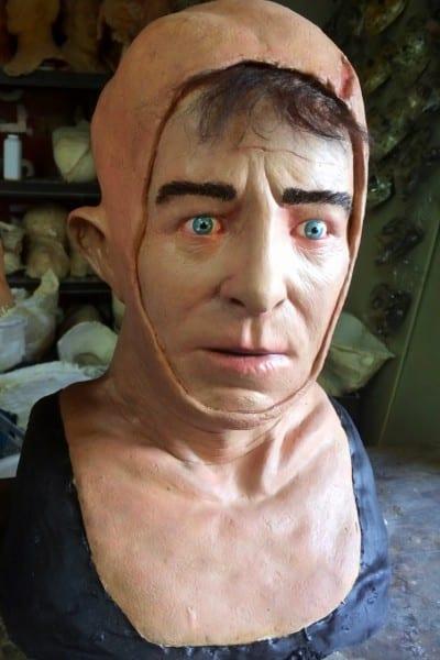 Custom Jason Voorhees, Hockey Masks By The Devils Latex