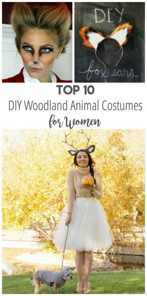 Top 10 Diy Woodland Animal Costumes For Women   Animals  Halloween