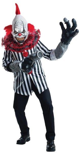 Creature Reacher Death Grin Clown Costume  Halloween Costumes For