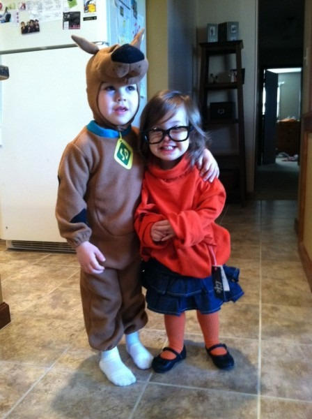 Scooby Doo And Velma Halloween Costumes