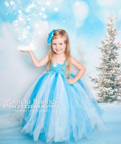 25 Toddler Elsa Costume, Deluxe Frozen Elsa Dress Girls Fancy
