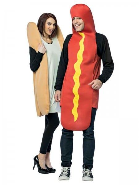 Costume Supercenter  Hot Dog Bun Couples Costume