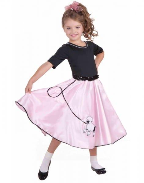 Adult Poodle Skirt Women's Adult Halloween Costume