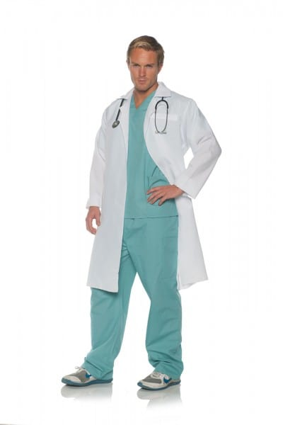 Costume Zoo  On Call Mens Adult Doctor Costume