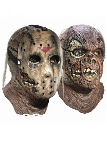 Costume Supercenter  Deluxe Adult Jason Overhead Latex Mask With