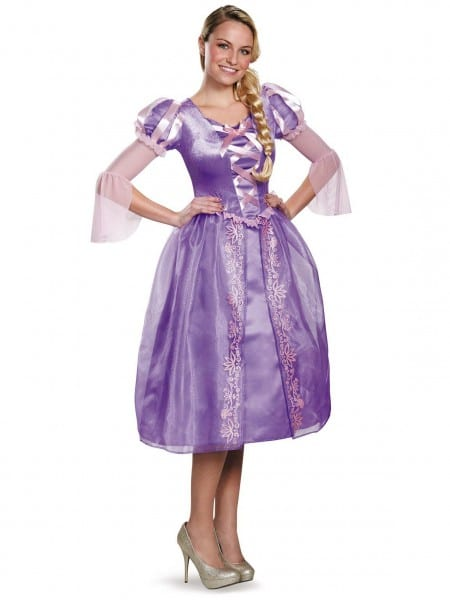 Costume Supercenter  Disney Princess Deluxe Womens Rapunzel