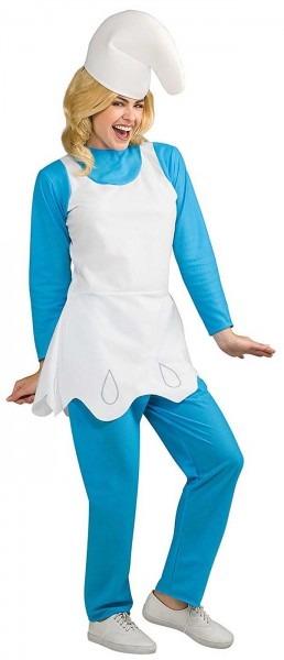 Costume Zoo  Smurfs The Lost Village Womens Smurfette Costume