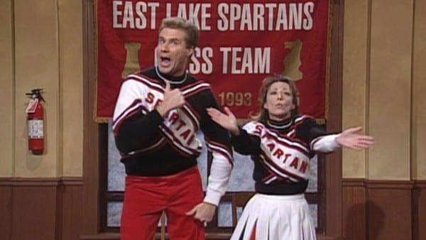 Snl' At 40  Cheri Oteri Reveals Jim Carrey Keeps Spartans Uniform
