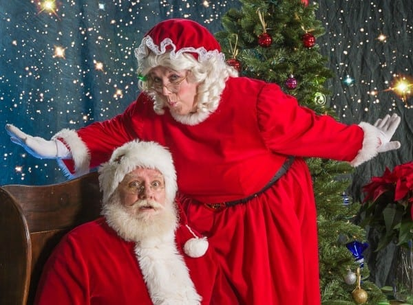 Bellingham Duo Don Santa And Mrs  Claus Costumes During The