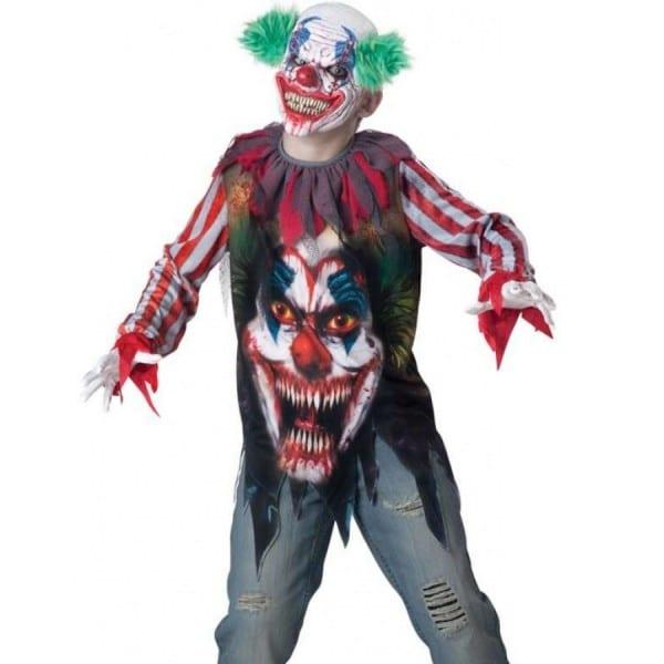 Kids Killer Clown Affordable Halloween Costume