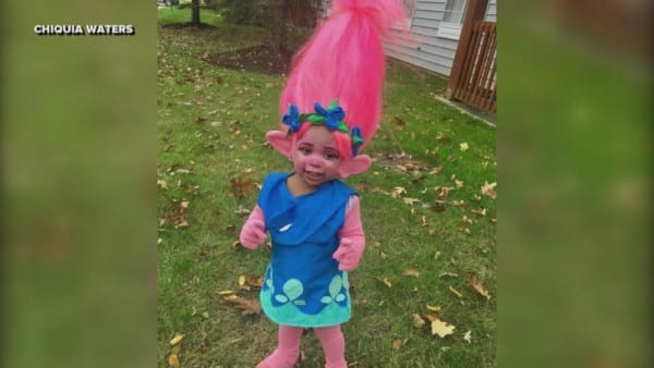 Mom Transforms Toddler Into 'trolls' Movie Character For Halloween