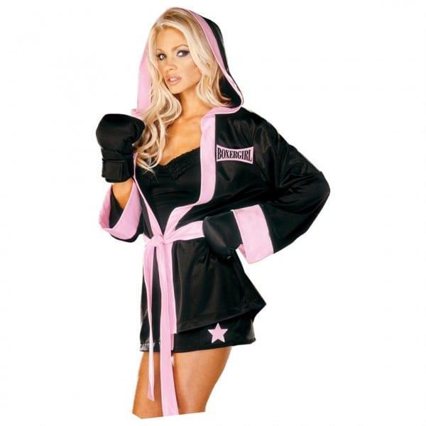 Morris Costumes Boxer Girl Costume