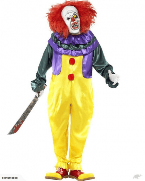 Surge In Searches For Killer Clown Costumes In New Zealand Before