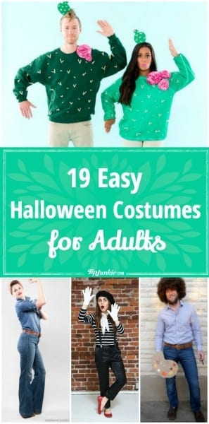 19 Easy Adult Halloween Costume Patterns