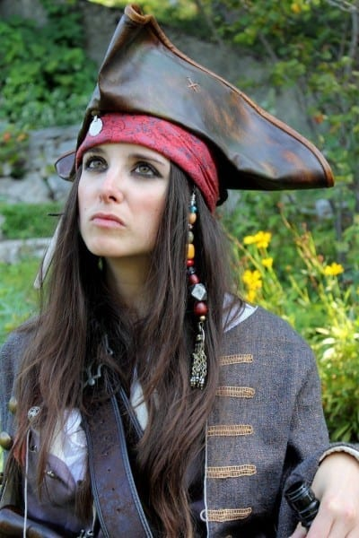 Lady Captain Jack Sparrow, Pirates Of The Caribbean, By Elodie50a