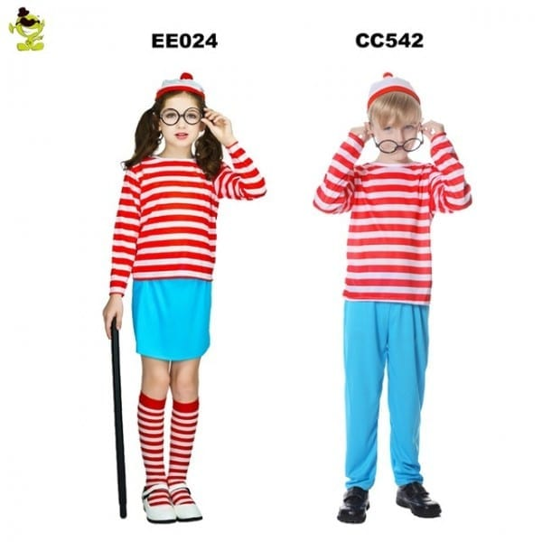 Aliexpress Com   Buy 2018 Where's Waldo Now Red&&white Stripes