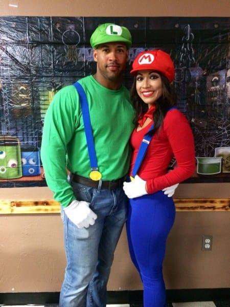 Mario And Luigi Couple Costume