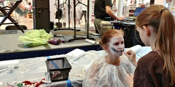 Halloween Express Jr  Face Off Competition & Professional Makeup