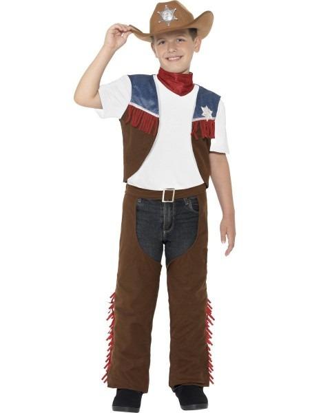 Ck946 Texan Cowboy Rodeo Wild West Western Sheriff Fancy Dress Up