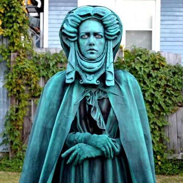 Madame Leota Living Statue Costume!