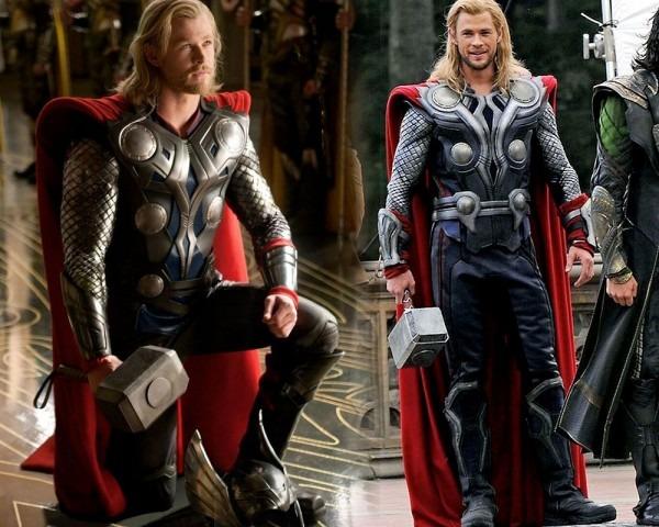 Thor's Movie Armor