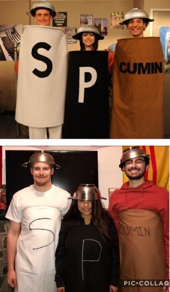 """What's Salt And Pepper Without Cumin  !""""   Himym"""