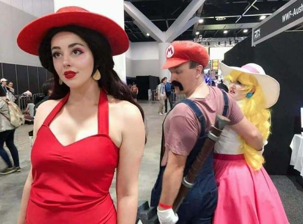 Distracted Mario