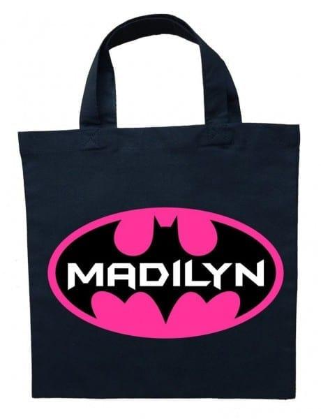 Bat Girl Trick Or Treat Bag