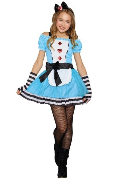 Miss Wonderland Tween Costume