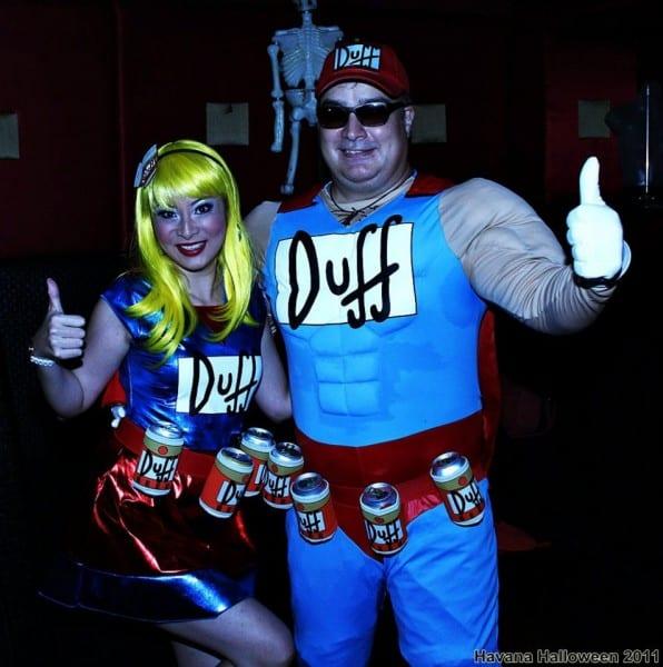 Duffman And Duffgirl From The Simpsons – Winniekepala Com