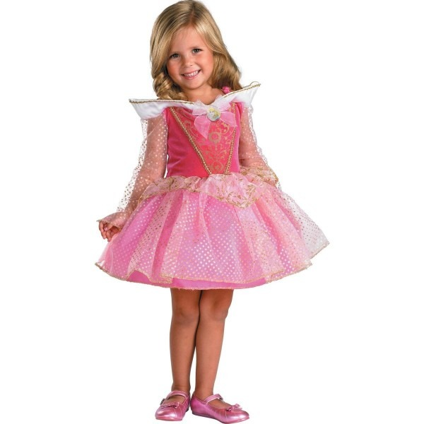 Acomes  Halloween Costumes Kids Disney Princess Aurora Sleeping