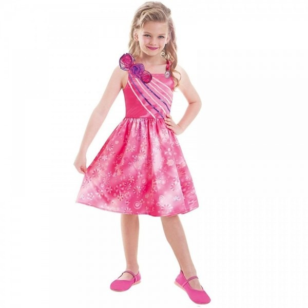 Barbie Doll And The Secret Door Fancy Dress Up Costume Outfit 3