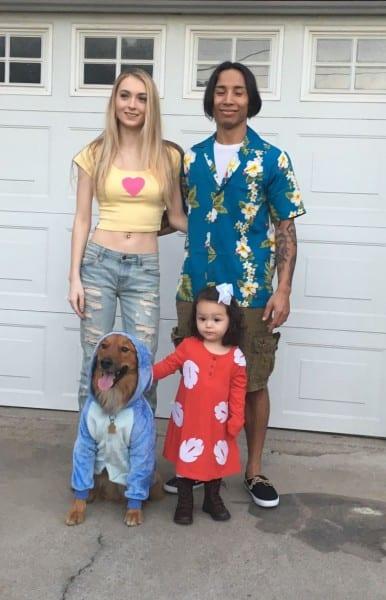 Lilo & Stitch Family Costume